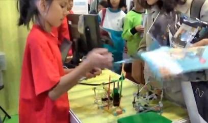 107臺灣科技教育展-花蓮縣科技領域教育成果展示