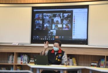 模擬停課 花蓮縣長與學童一起視訊上課